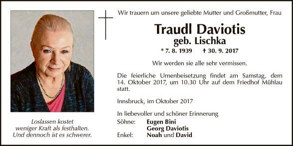 Traudl Daviotis