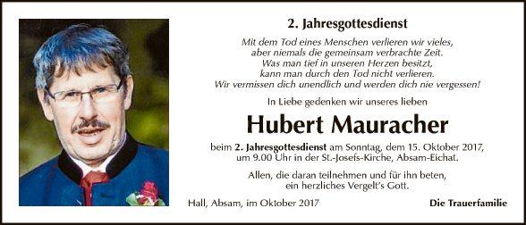 Hubert Mauracher