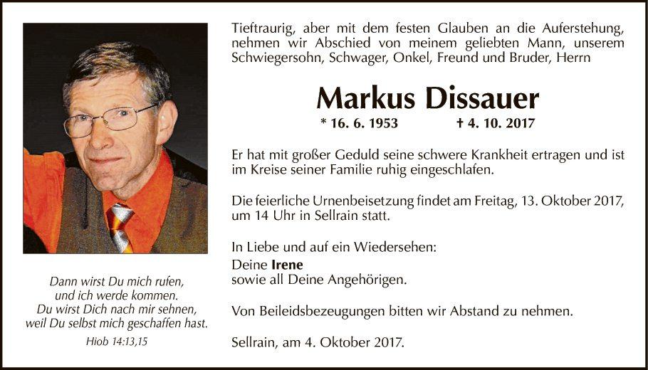 Markus Dissauer