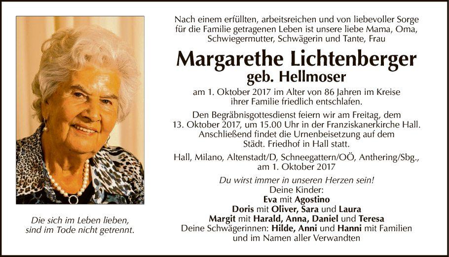 Margarethe Lichtenberger