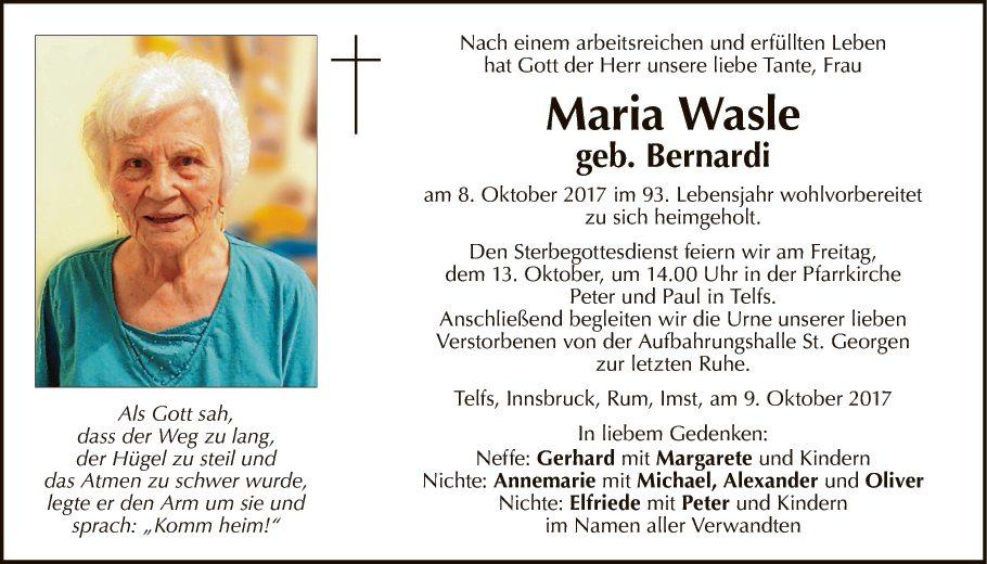 Maria Wasle