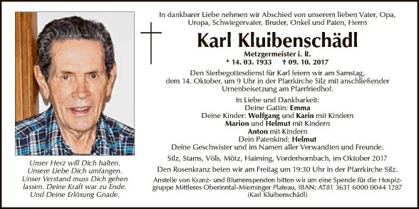 Karl Kluibenschädl