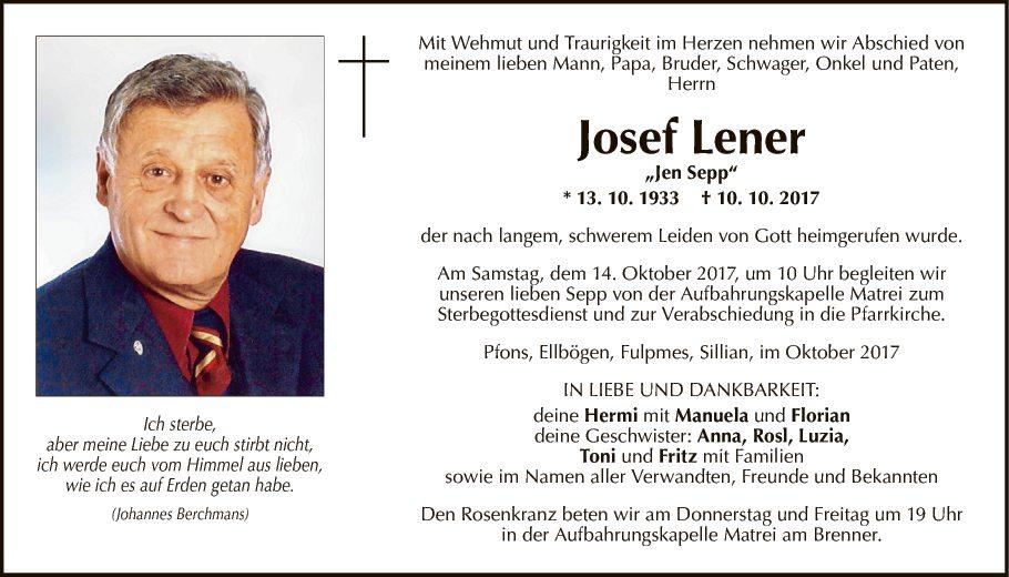Josef Lener