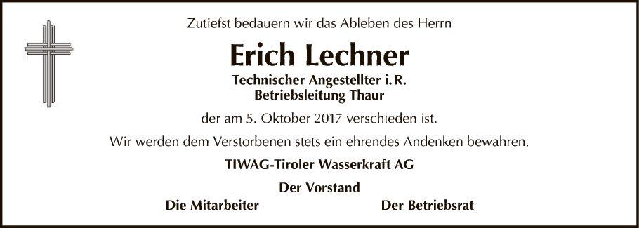 Erich Lechner
