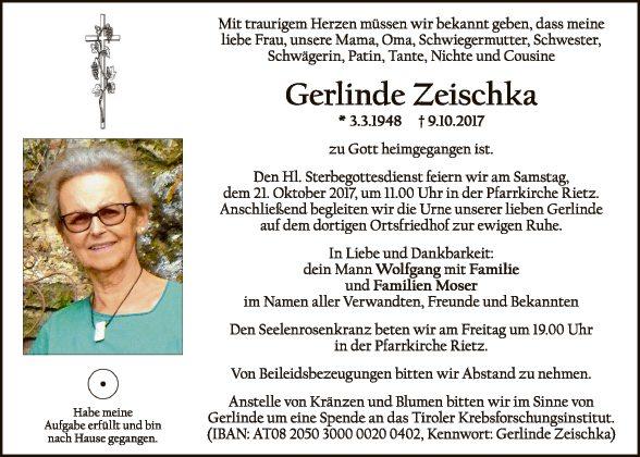 Gerlinde Zeischka