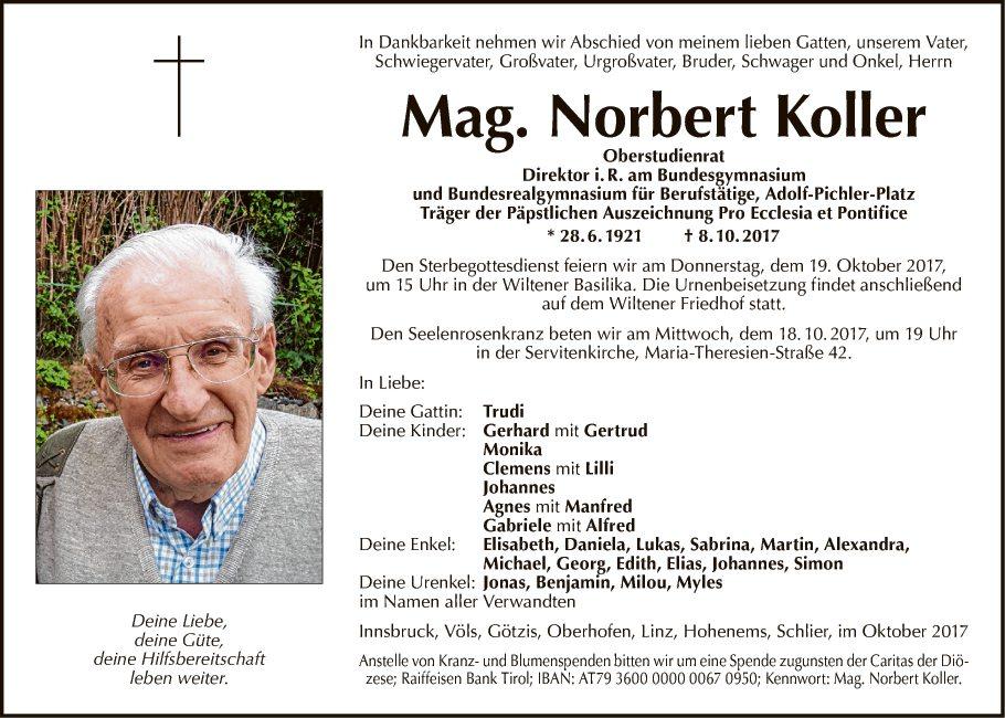 Mag. Norbert Koller