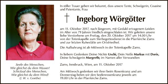 Ingeborg Wörgötter