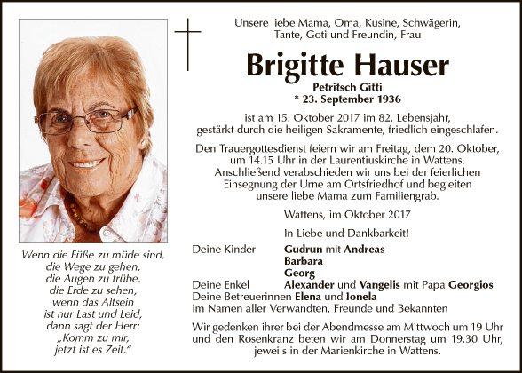 Brigitte Hauser
