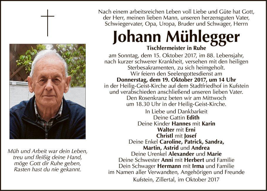 Johann Mühlegger