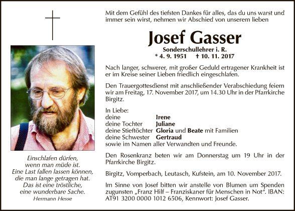 Josef Gasser