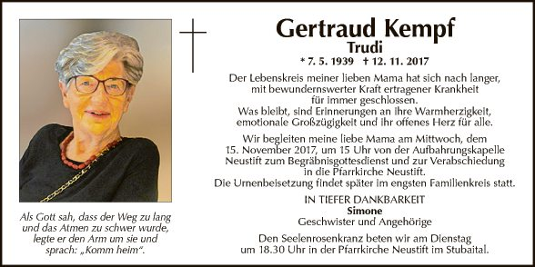 Gertraud Kempf