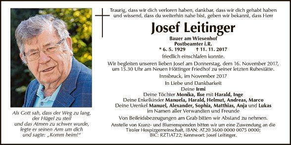 Josef Leitinger