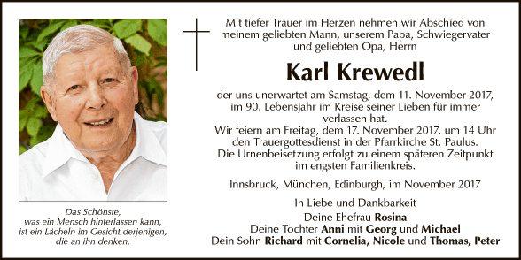 Karl Krewedl