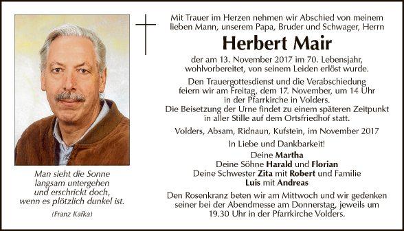 Herbert Mair