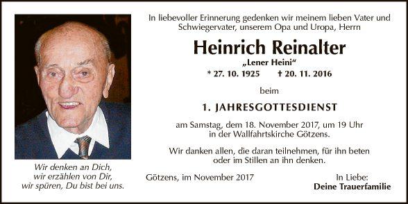 Heinrich Reinalter