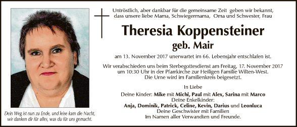 Theresia Koppensteiner