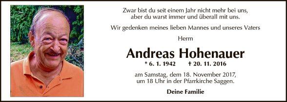 Andreas Hohenauer