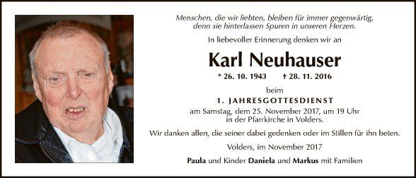 Karl Neuhauser