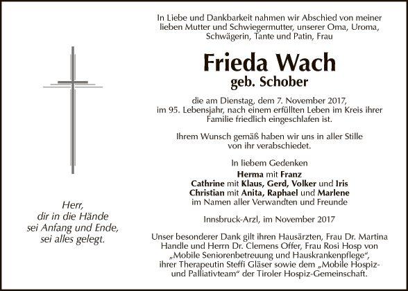 Frieda Wach