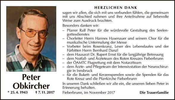 Peter Obkircher