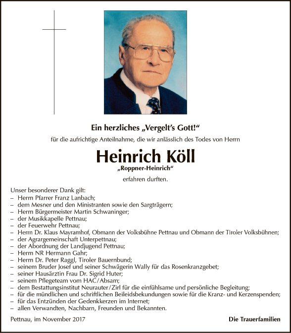 Heinrich Köll