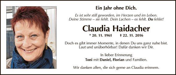 Claudia Haidacher