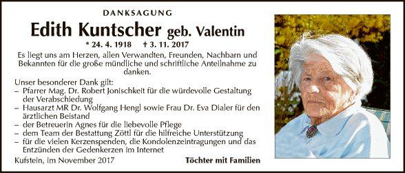 Edith Kuntscher