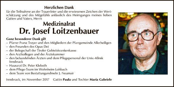 Dr. Josef Loitzenbauer