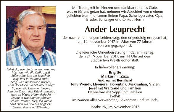 Ander Leuprecht