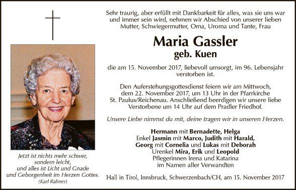 Maria Gassler