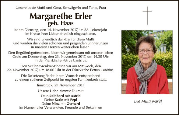 Margarethe Erler