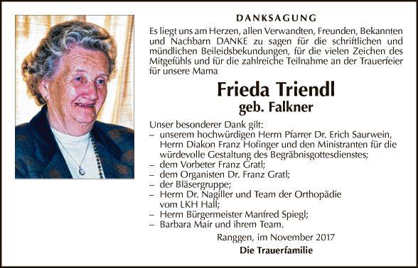 Frieda Triendl