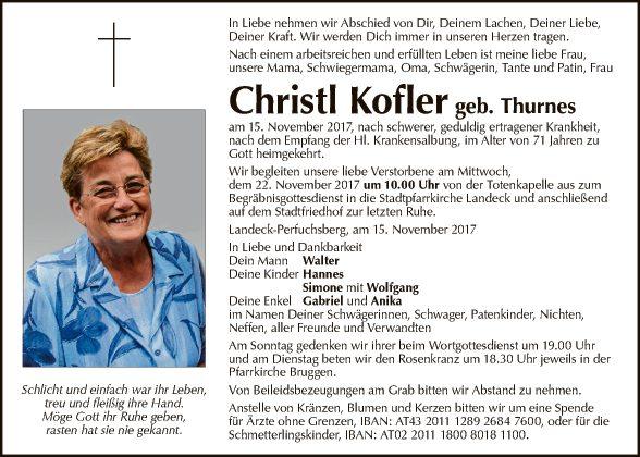 Christl Kofler