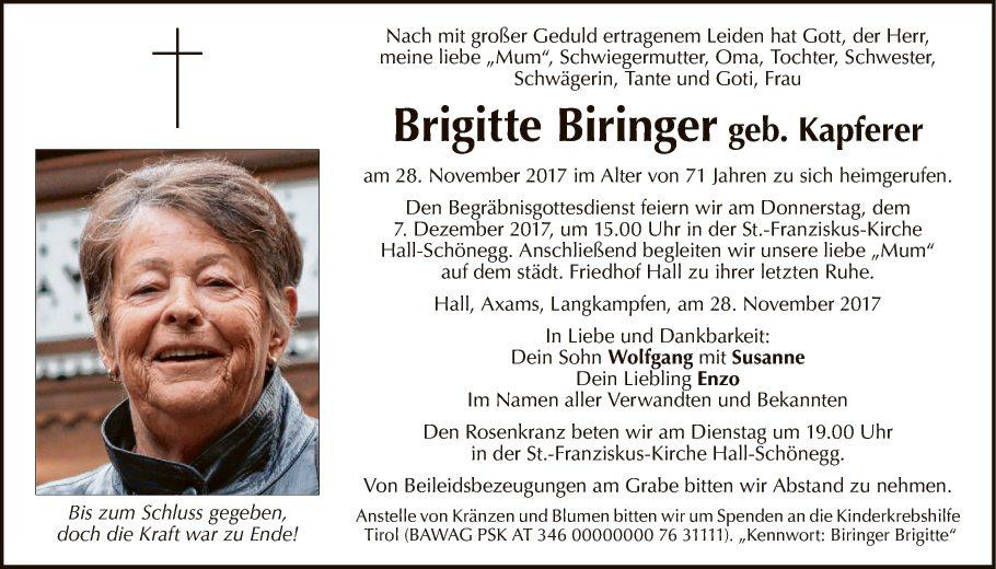 Brigitte Biringer