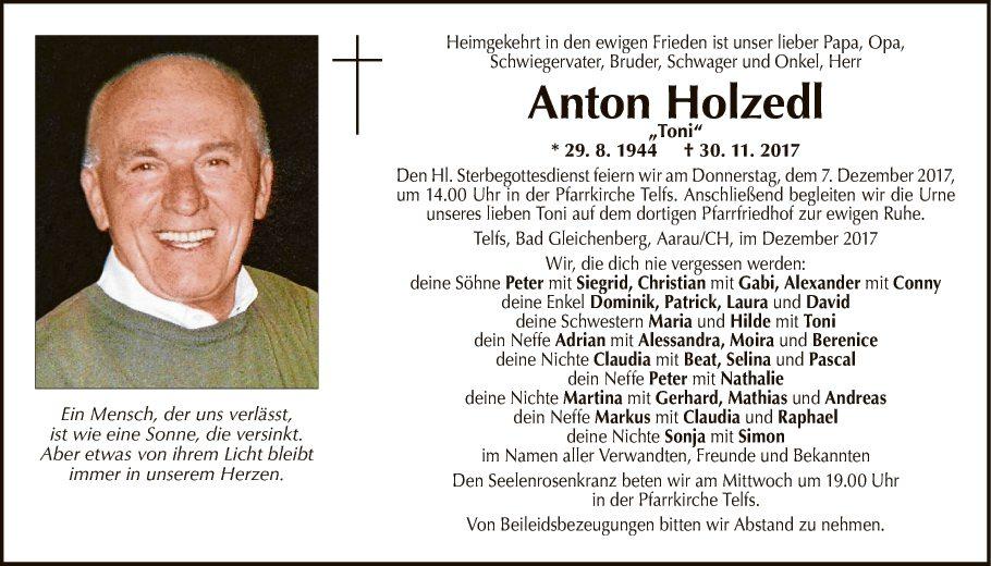 Anton Holzedl