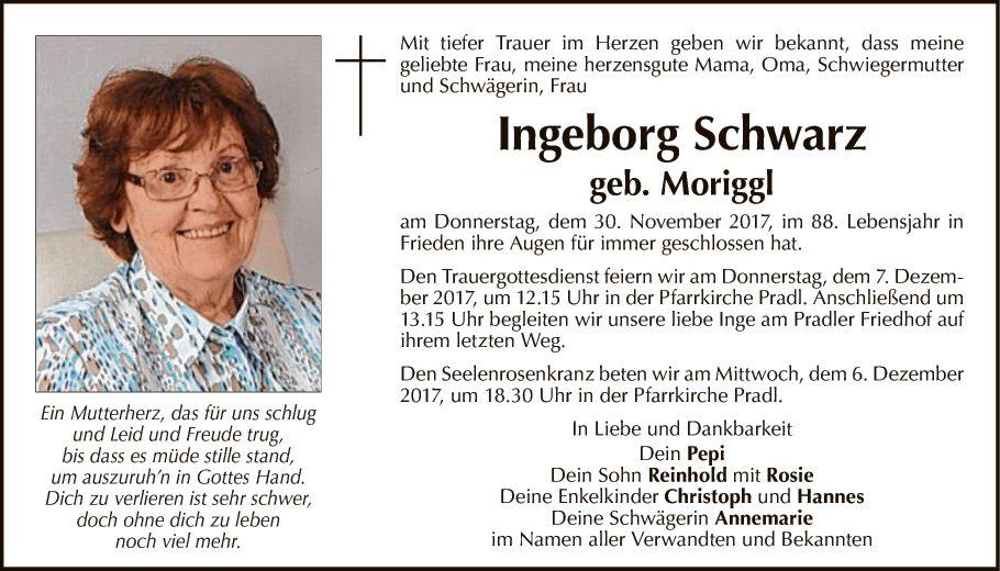 Ingeborg Schwarz