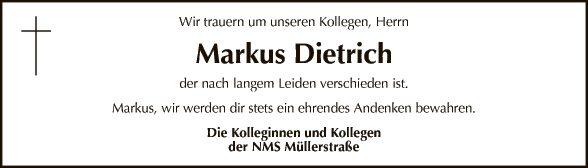 Markus Dietrich