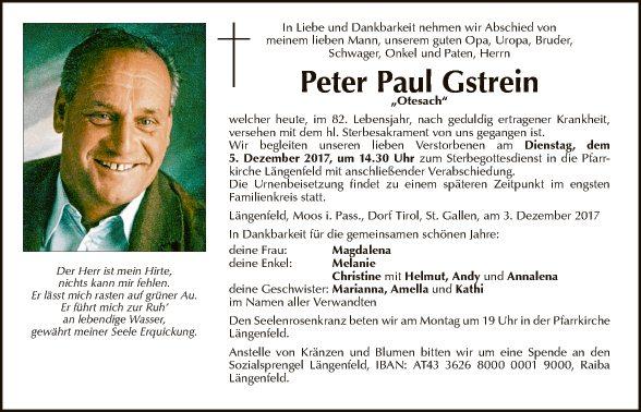 Peter Paul Gstrein