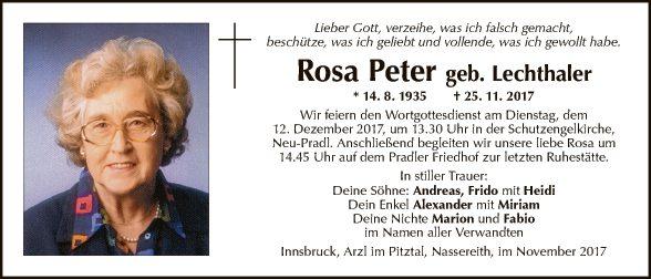 Rosa Peter