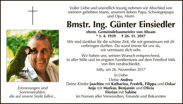 Günter Einsiedler