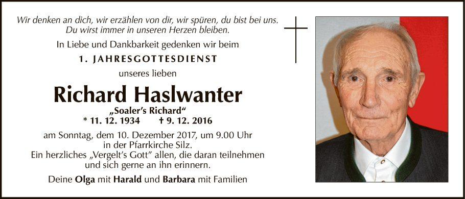 Richhard Haslwanter