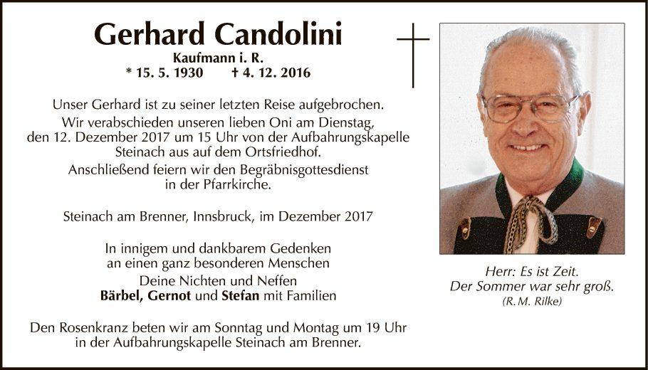 Gerhard Candolini