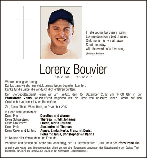 Lorenz Bouvier