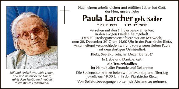 Paula Larcher