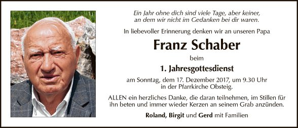 Franz Schaber