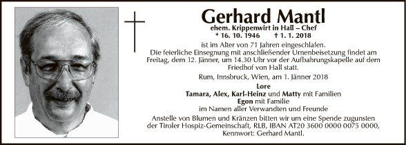 Gerhard Mantl