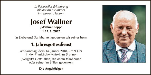 Josef Wallner