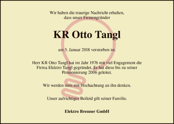 Otto Tangl