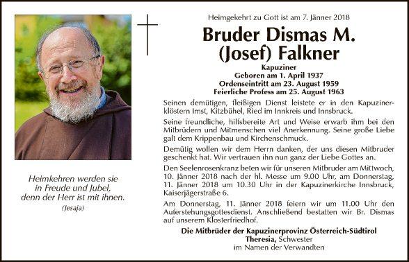 Bruder Dismas M. Josef Falkner
