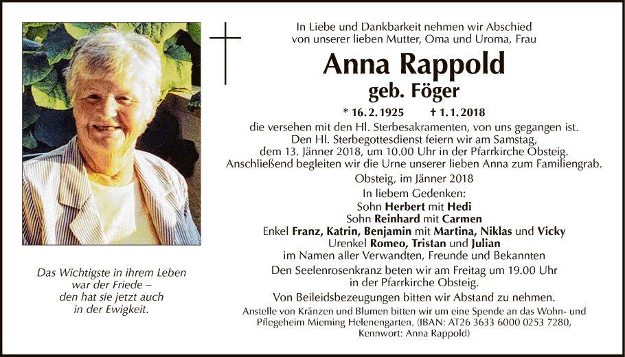 Anna Rappold
